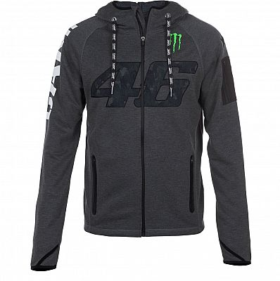 VR46 Racing Apparel Camp, Sudadera con capucha zip
