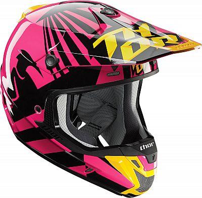 Image of Thor Verge S17 Dazz, cross helmet