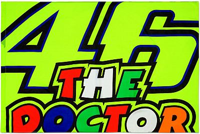 VR46 Racing Apparel Classic 46 The Doctor, Bandera