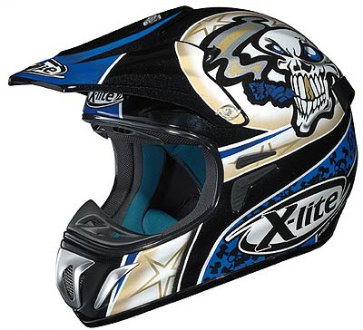Image For X-Lite-X-501-Gambler-cross-helmet
