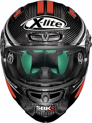 x lite x 803 ultra carbon sbk integralhelm. Black Bedroom Furniture Sets. Home Design Ideas