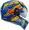 AGV K-3 SV VR46 Five Continents Replica, Integralhelm