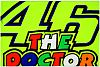 VR46 Racing Apparel Classic 46 The Doctor, flag