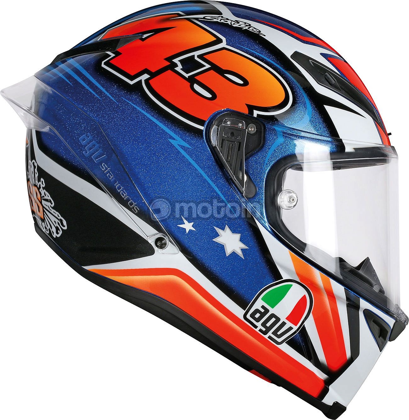 agv corsa r miller 2016 replica integralhelm. Black Bedroom Furniture Sets. Home Design Ideas
