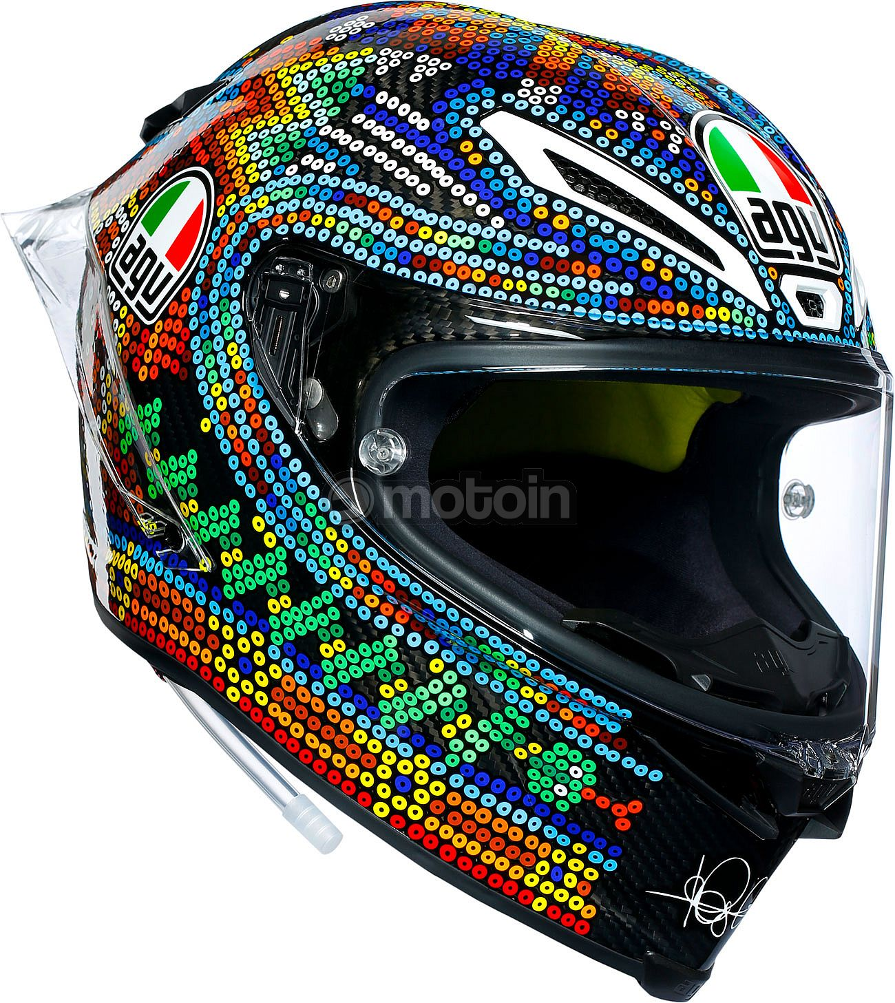 agv pista gp r winter test 2018 replica integralhelm. Black Bedroom Furniture Sets. Home Design Ideas