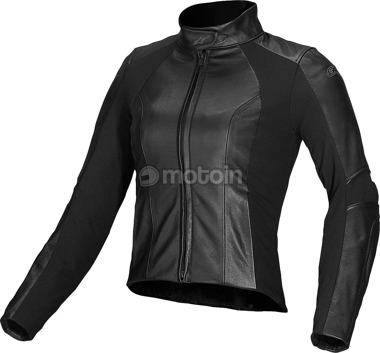 alpinestars vika leather jacket. Black Bedroom Furniture Sets. Home Design Ideas