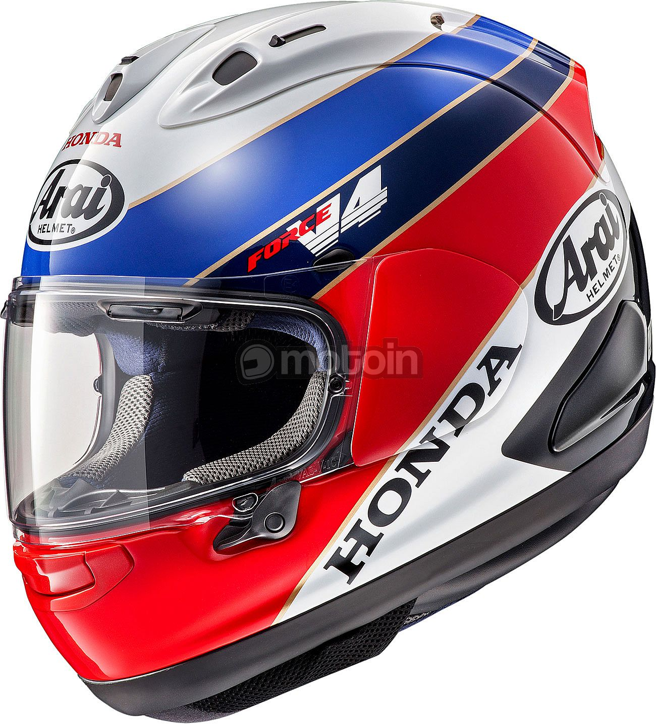 arai rx 7v rc 30 limited edition honda integralhelm. Black Bedroom Furniture Sets. Home Design Ideas