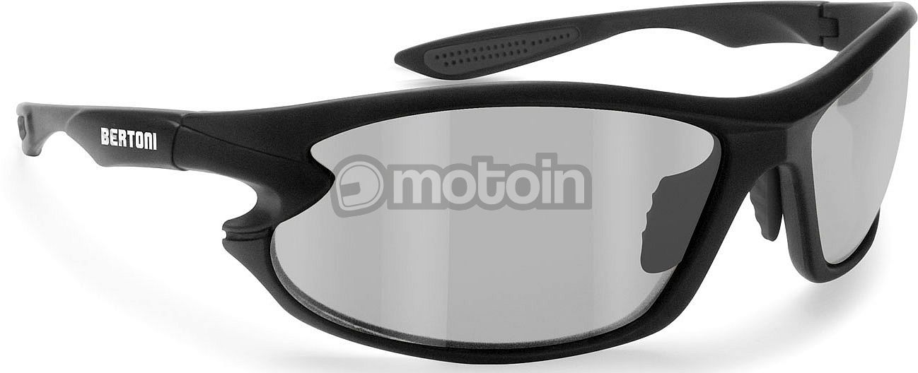 Bertoni P676FTA, Sonnenbrille photochromatisch Schwarz Getönt