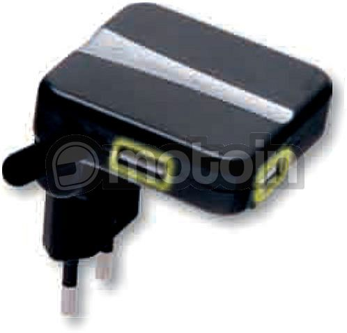 cellular line dual usb adapter f r steckdose. Black Bedroom Furniture Sets. Home Design Ideas