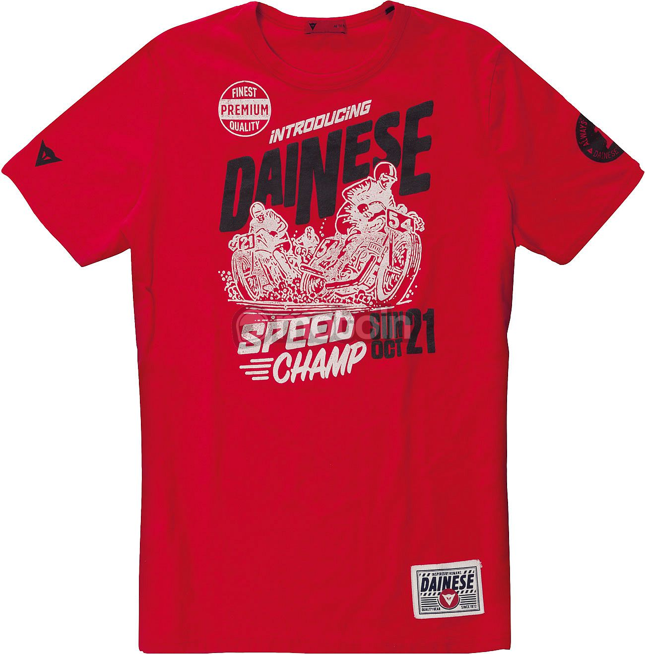 dainese speed champ t shirt. Black Bedroom Furniture Sets. Home Design Ideas