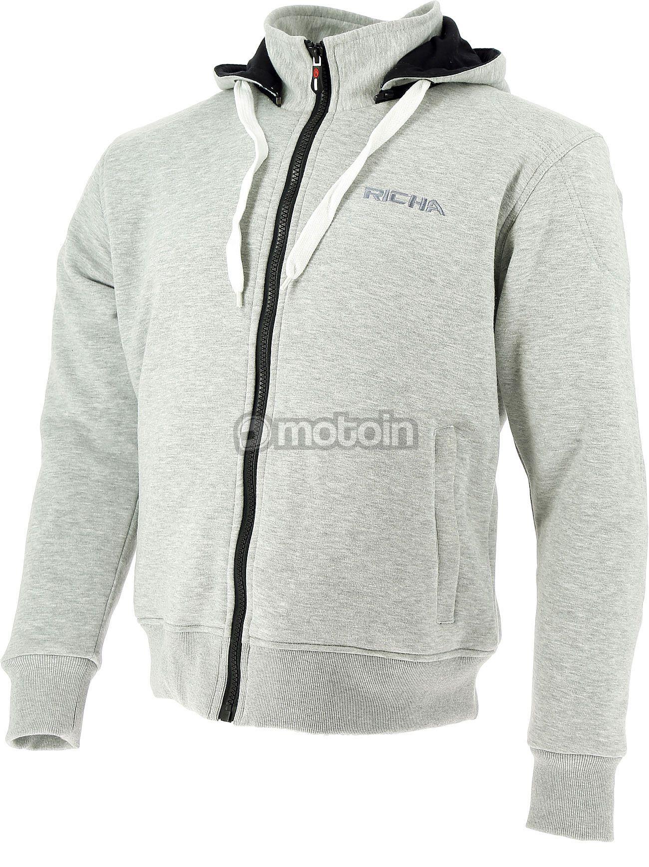 Macna Nuclone Moto Zip Hoodie Gris XL