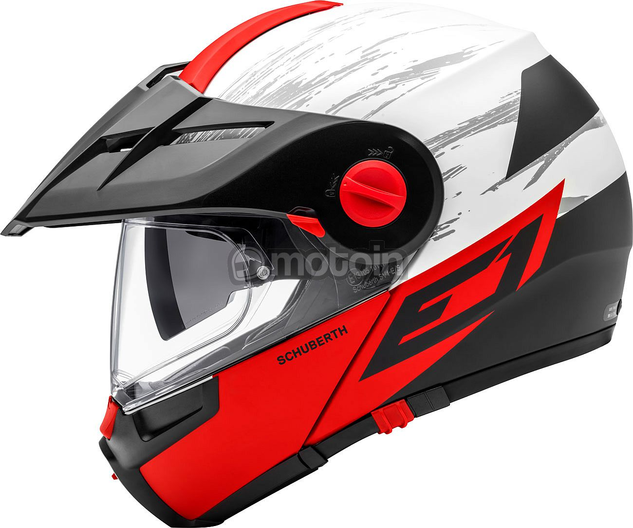 9bba1823 Schuberth E1 Crossfire, flip up helmet - motoin.de