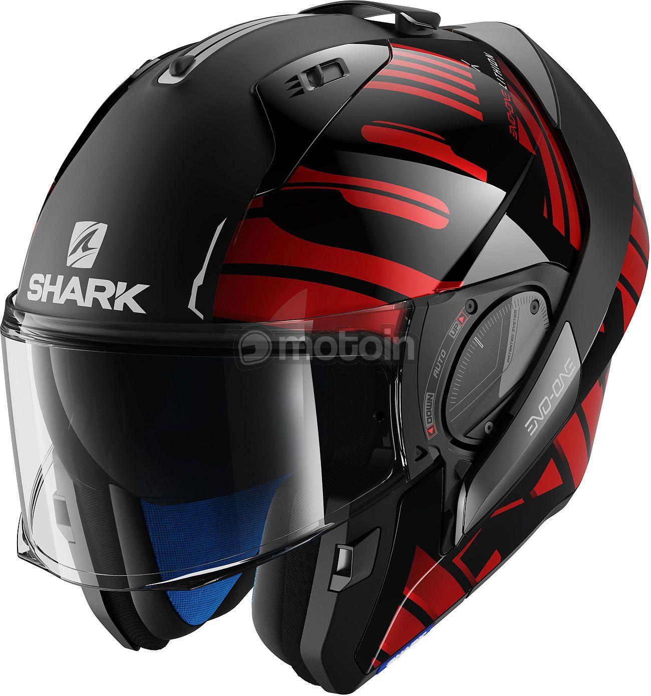 Shark Evo-One 2 Lithion, modular helmet - motoin de